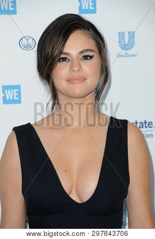 Selena Gomez at the WE Day California 2019 held at the Forum in Inglewood, USA on April 25, 2019.