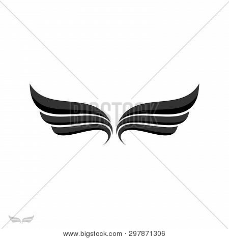 Wings Logo,  Wing Icon Vector, Wing Logo Company, Icon Wing Flying, Eagle Wing Brand And Logotype Wi