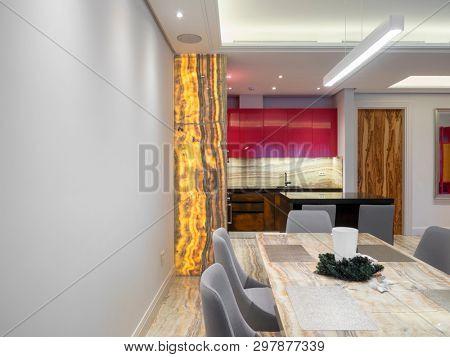 Modern comfortable apartment interior design