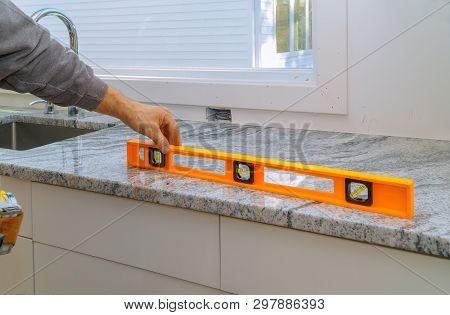 Installing With Granite Countertops Renovation Granite Kitchen Interior Cabinet