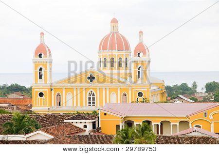 Cathedral Of Granada Nicaragua