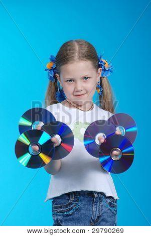 The Girl Holds Cd