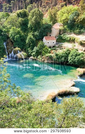 Krka, Sibenik, Croatia, Europe - Idyllic Living Within Krka National Park