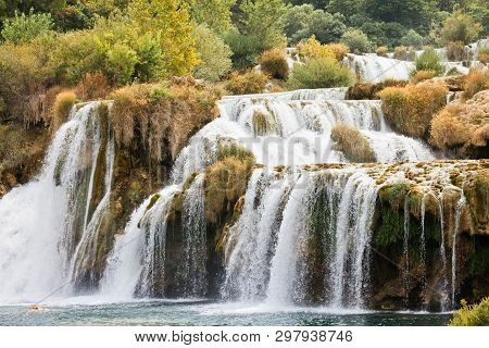 Krka, Sibenik, Croatia, Europe - Never-ending Cataract Through Krka National Park