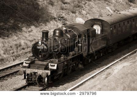 Steam Rothley Sepia52