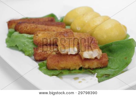 Appetizing Fish  Fingers
