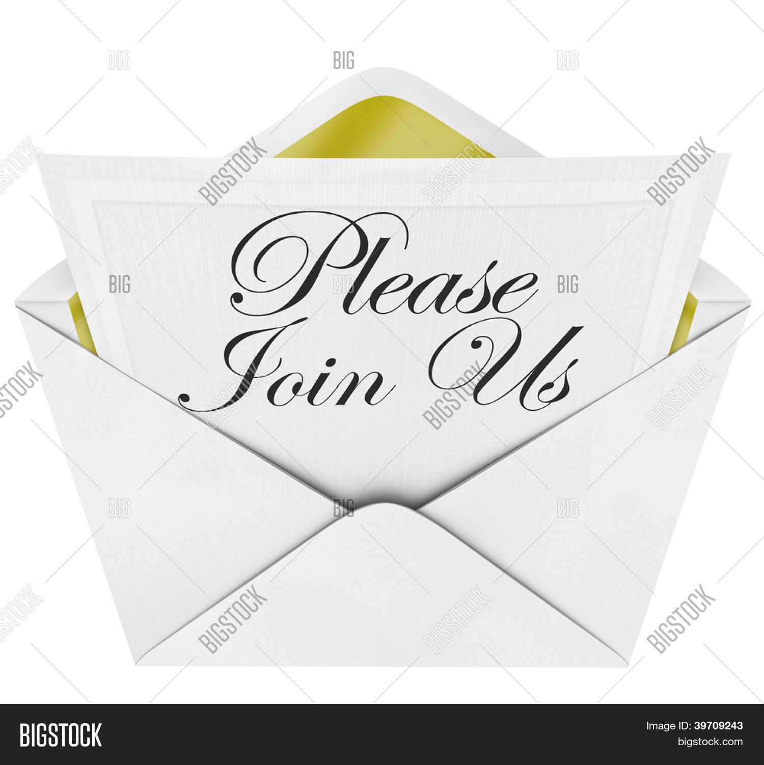 words please join us image photo free trial bigstock