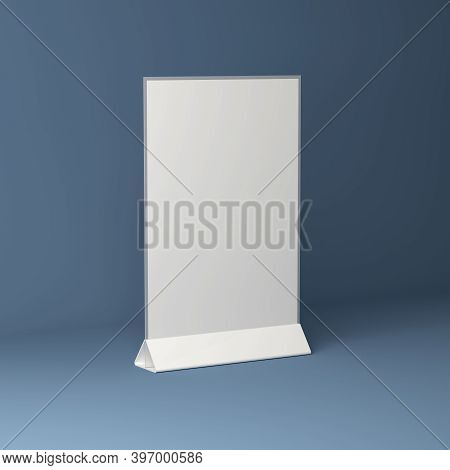 Transparent Plastic And Acrylic Advertising Menu Holder, Table Holder, Table Top Menu, Card Holder,