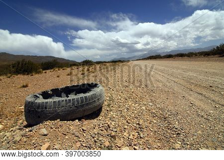 Roads In The National Park El Leoncito In Argentina