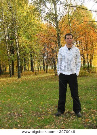 Boy In Autumn