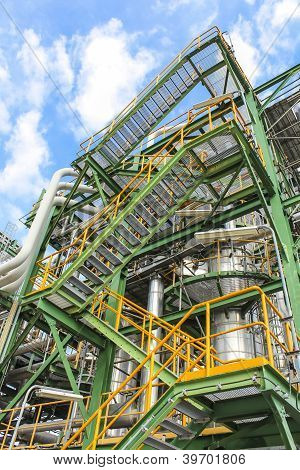Structure Of Process Plant