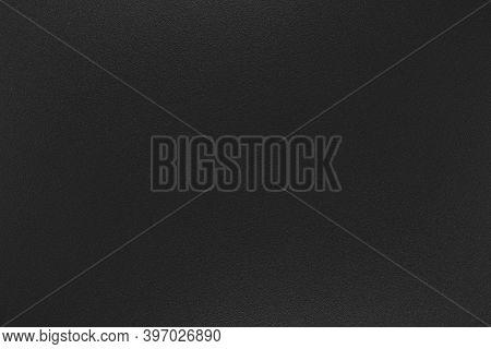 Black Paper Texture Background, Kraft  Paper Surface Texture, Horizontal, Background For Design