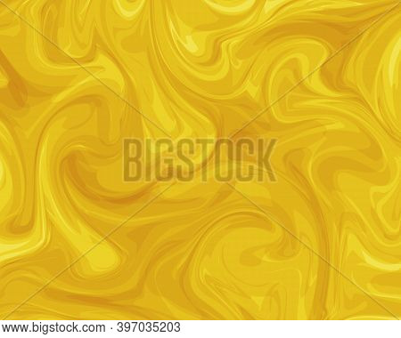 Trendy Colors Vector Background. Fortune Gold Color.