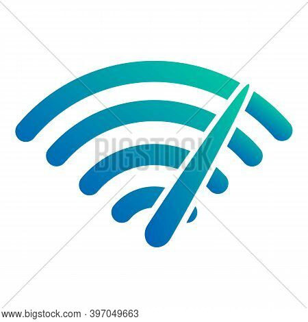 Internet Speed Load Icon. Cartoon Of Internet Speed Load Vector Icon For Web Design Isolated On Whit