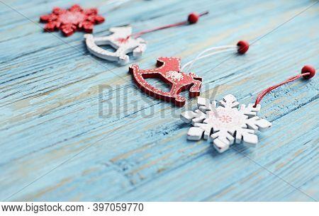 Christmas Ornaments, Christmas Tree, Balls, Garlands For A Happy Christmas