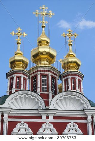 Moscow's Church of Transfiguration of Christ- Novodevichy Convent