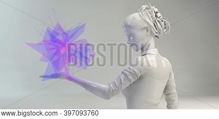 Disruptive Technologies And Innovation In The Technology Industry 3d render