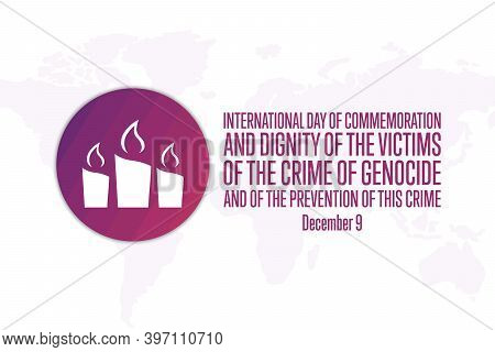 International Day Of Commemoration And Dignity Of The Victims Of The Crime Of Genocide And Of The Pr