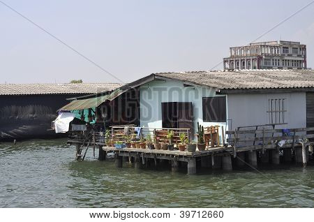 House Water Sea Native Outdoor Thailand