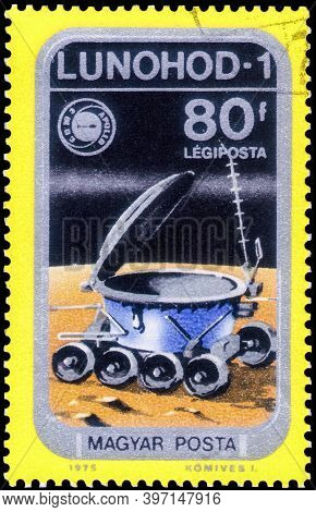 Saint Petersburg, Russia - November 12, 2020: Postage Stamp Issued In Hungary With The Image Of The