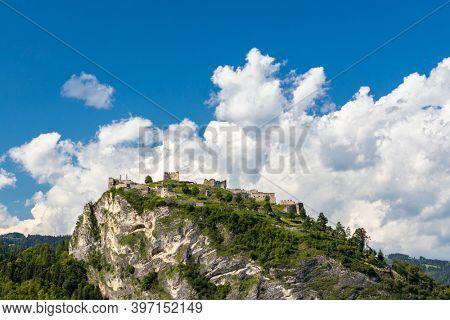 Griffen ruins in Carinthia region, Austria