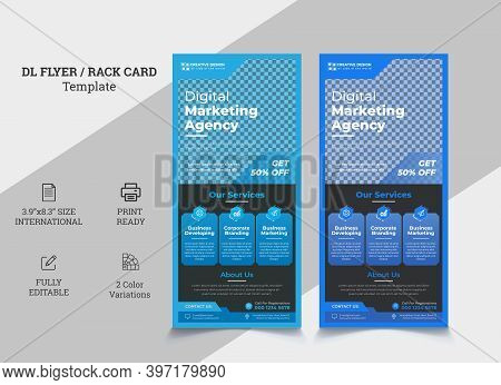 Creative Modern Corporate Dl Flyer Design. Dl Flyer Design. Pink Business Template For Dl Flyer. Lay