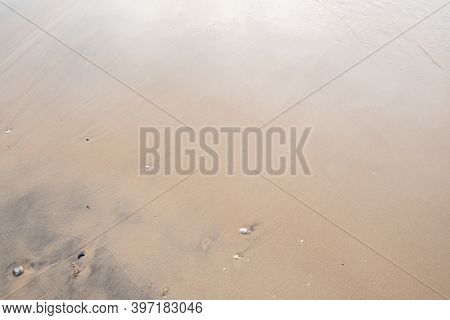 Close Up Of Sand Texture On The Beach For Summer Background And Summer Nature Design
