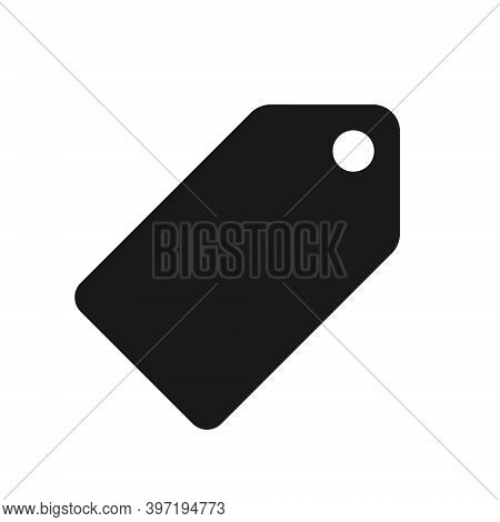 Price Tag Vector Icon. Online Shop And Store Button. Pricing Label Symbol. Simple Flat Shape Sale Lo