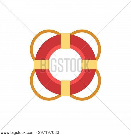 Lifebuoy Icon. Simple Element From Port Collection. Creative Lifebuoy Icon For Web Design, Templates