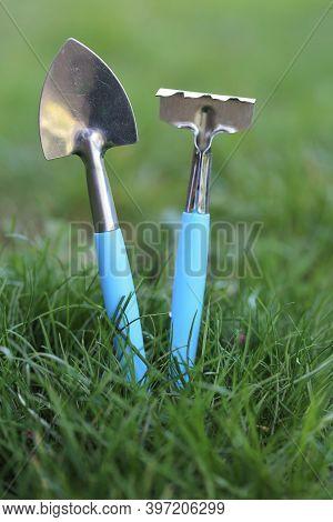 Spring Work In The Garden. Farming And Horticulture Concept.farming, Garden . Cottage Season.