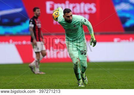 Milano, Italy. 29th November 2020. Gianluigi Donnarumma Of Ac Milan    During The Serie A Match Beet