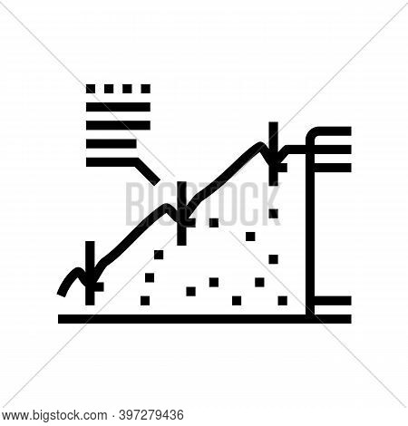 Strengthening Of Road Slopes Line Icon Vector. Strengthening Of Road Slopes Sign. Isolated Contour S