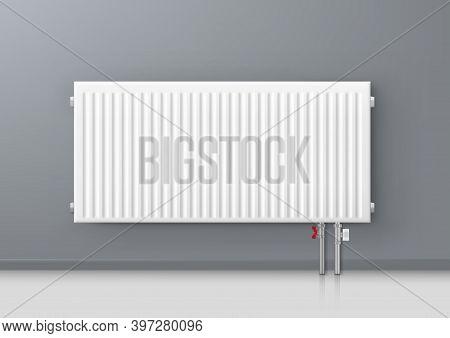 3d Aluminum Central Heating Radiator In Room