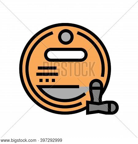 Bullet Magazine Color Icon Vector. Bullet Magazine Sign. Isolated Symbol Illustration