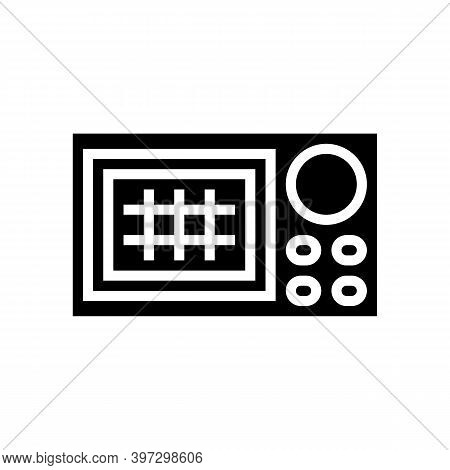 Navigation System Glyph Icon Vector. Navigation System Sign. Isolated Contour Symbol Black Illustrat