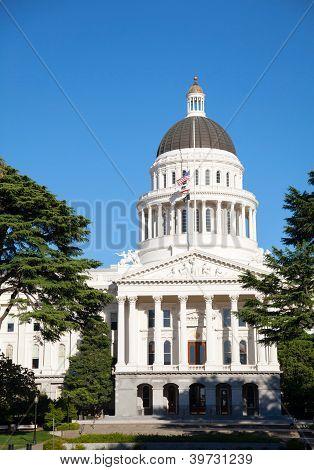 Capitol Building In Sacramento, California
