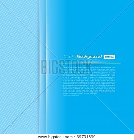 Presetation Layout for Your Business | EPS10 Vector Background