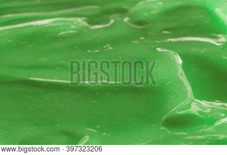 Water Gel Smudge Abstract Background. Body Care