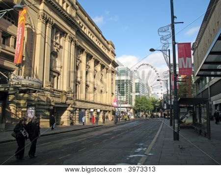 Shoppers In Manchester England