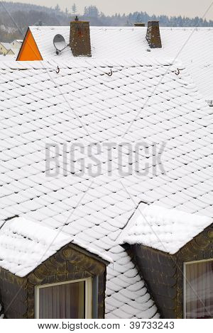 Snowy Roofs