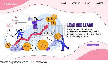 Written Sales Training Courses. Lead And Learn. Leadership Concept. Team Building Training. Course I