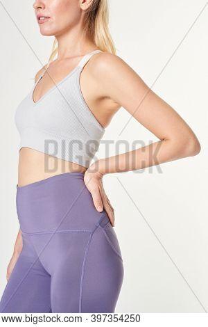 Women's sports wear mockup active wear apparel