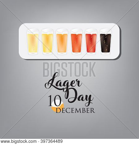Lager Beer Color Options For December Event - Lager Day