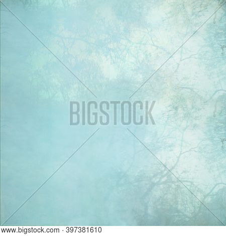 Blue textured background image and useful design element