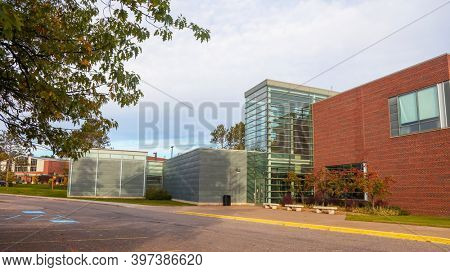 MARQUETTE, MI,October 6, 2020: Northern Michigan University school of art and design at Marquette, is a public university in Michigan upper peninsula. The university was established in 1899.