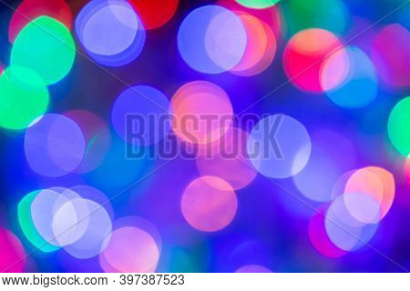 Bokeh Background, Bokeh Light Backgrounds, Abstract Blurred Bokeh With Festive Light Bokeh Backgroun