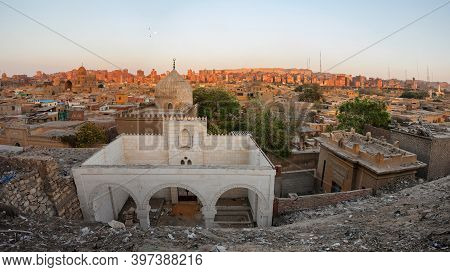 Old Part Of Cairo. The City Of The Dead, Egypt