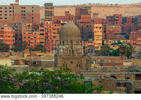 Old Town Of Town Cairo. The City Of The Dead, Egypt