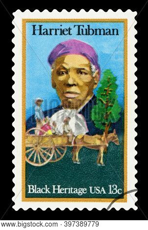 United States Of America - Circa 1978: A Stamp Printed In The United States Of America Shows Harriet