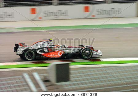 Heikki Kovalainen'S Mclaren Car In 2008 F1